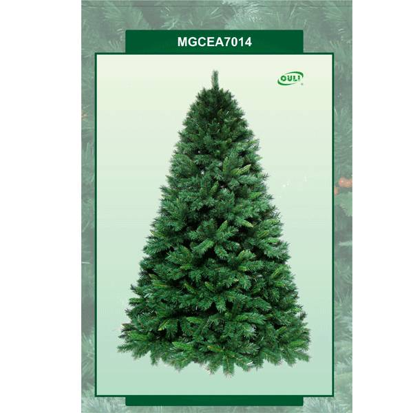 Whole artificial christmas trees