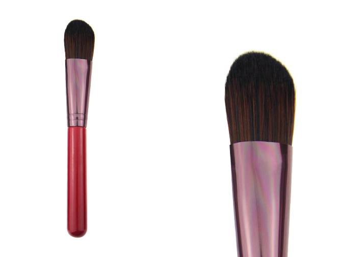 Red Foundation Brush For Liquid Foundation,BB Cream Powder Brush
