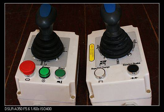 tower crane drive control for hoist /joystick