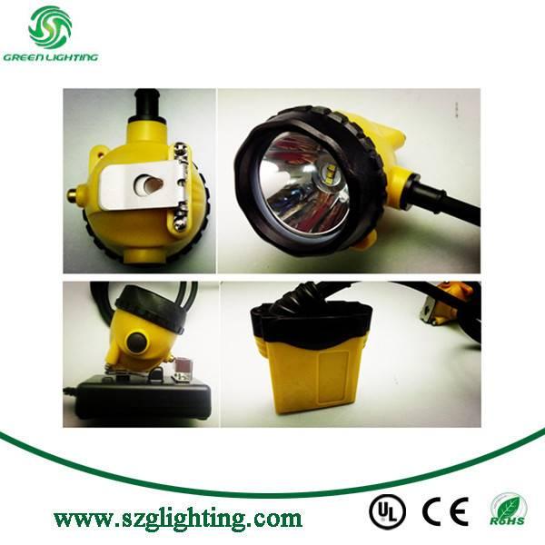12.4Ah IP68 Water Proof High Brightness Mining Cap Lamp