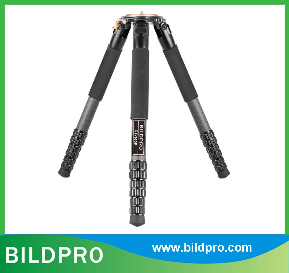 36mm Professional Carbon Fiber Tripod Heavy Duty Telescopic Stand Camcorder Video Tripod