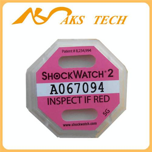 Shockwatch 2 impact label shipping labels