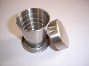 Folding cup, double wall cup, tableware