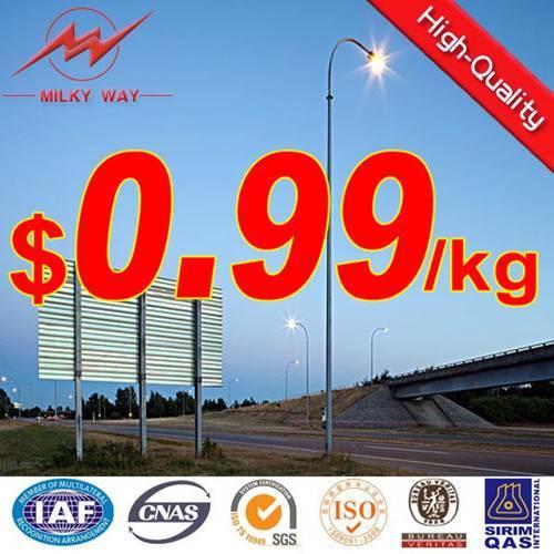 Aluminum lamp poles-OEM design welcome