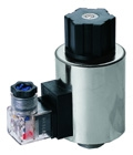 Solenoid Series for DC Wet-Pin Type Valves (Many other models available)