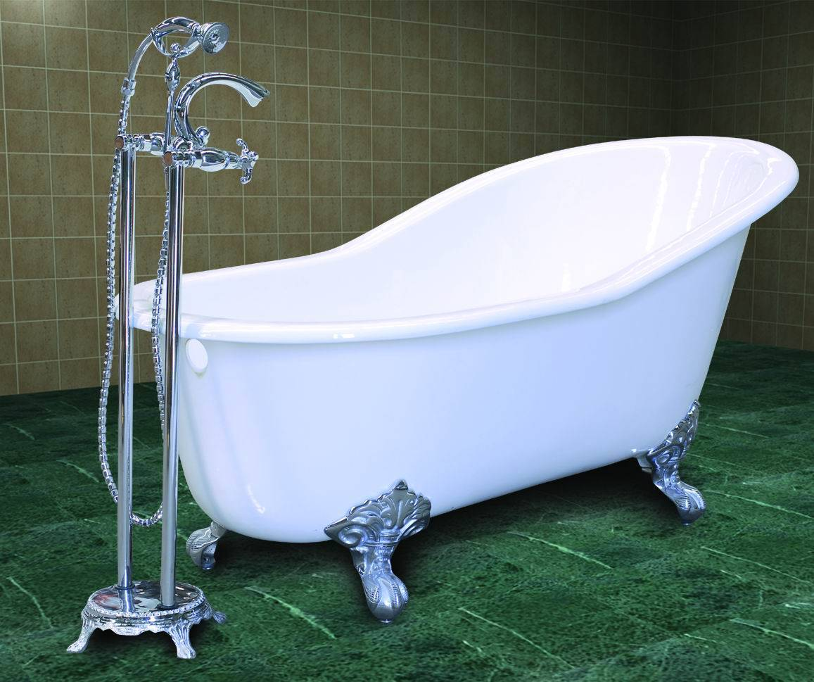 antique cast iron bathtub