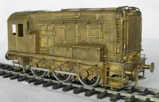 Metal toy train - O scale