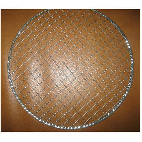 round barbecued grill netting