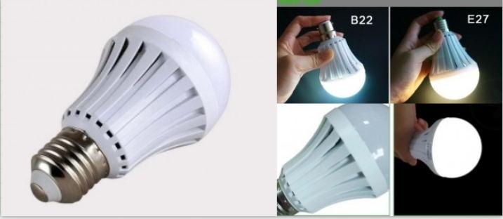 Emergency LED bulb 5W-15W
