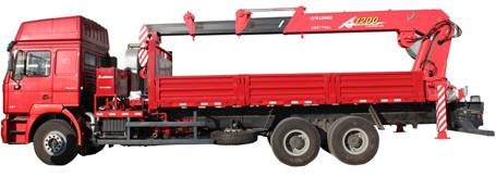 Shacman Crane Mounted Truck