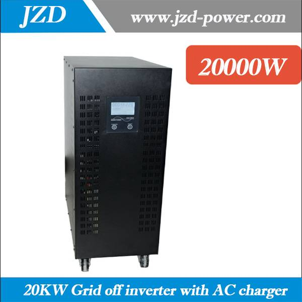 Pure sine wave 20KW/20000W Grid off inverter dc to ac Inverter 192VDC to 220VAC 50HZ low Frenquency