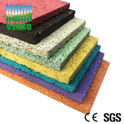 diy lightweight concrete decorative fire flames stone wool china supplier wooden-wool acoustic panel