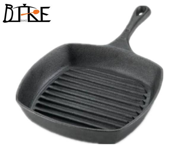 Cast iron enameled grill pans/griddle plate