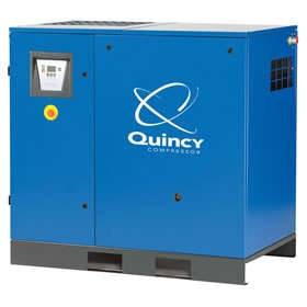 Quincy QGS 30-HP 120-Gallon Rotary Screw Compressor w/Dryer (208/230/460 3-Phase)