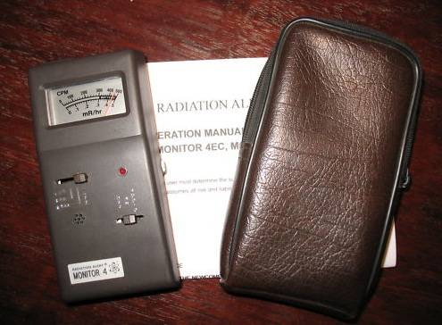 Handheld Radiation Alert Detector Monitor 4