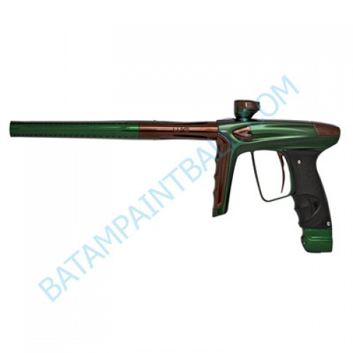 New DLX LUXE ICE Paintball Marker Gun - Polish Green and Brown