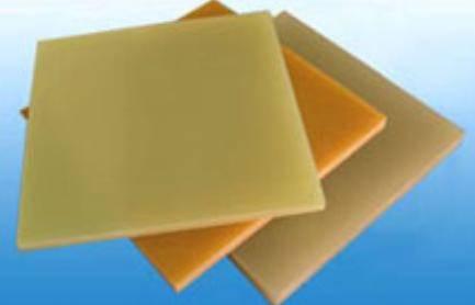 Epoxy resin glass cloth laminated sheet