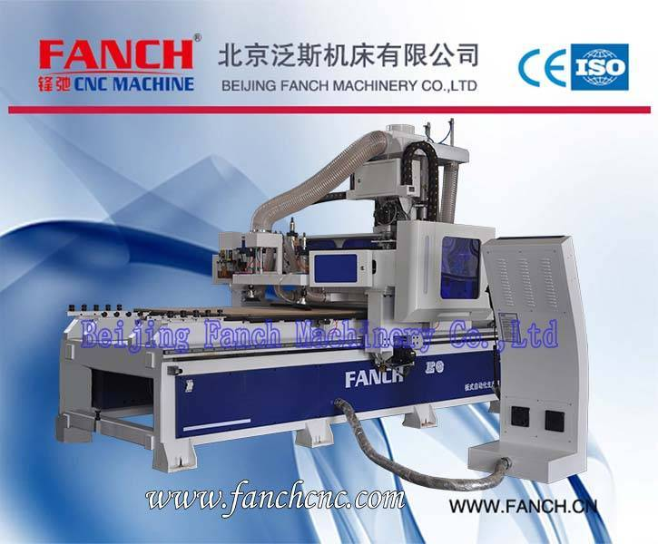 Offer Panel Furniture Production Line Wood Cutting/Drilling Machine
