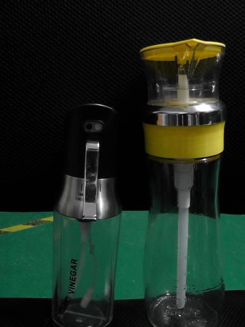 Press & Measured Oil and Vinegar Dispensor