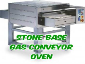STONE BASE Pizza Conveyor Oven - GAS