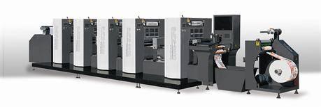 WJPS-350 Offset Label Printing Machine