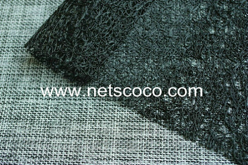 Netscoco Scribble Placemat, Black Placemat