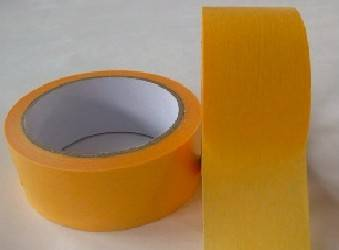 brown masking tape