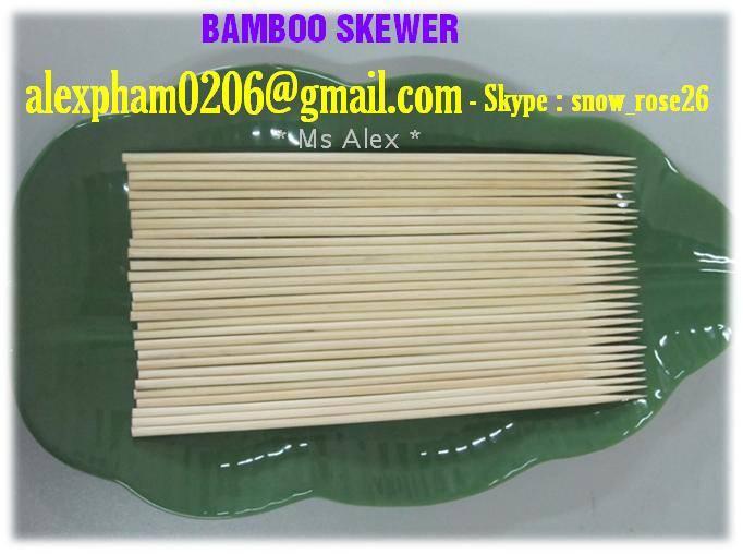 Bamboo Skewer, Bamboo Chopsticks, BBQ Bamboo product