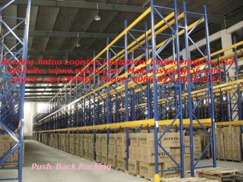 Push-back Racking