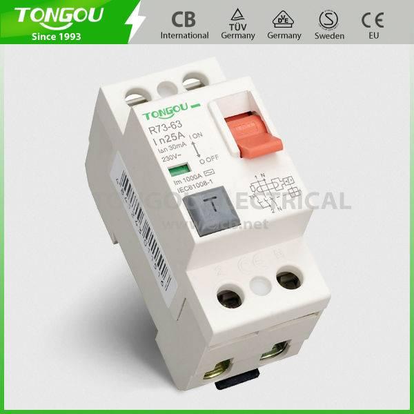 TOR73-63 NFIN type Residual Current Circuit Breaker