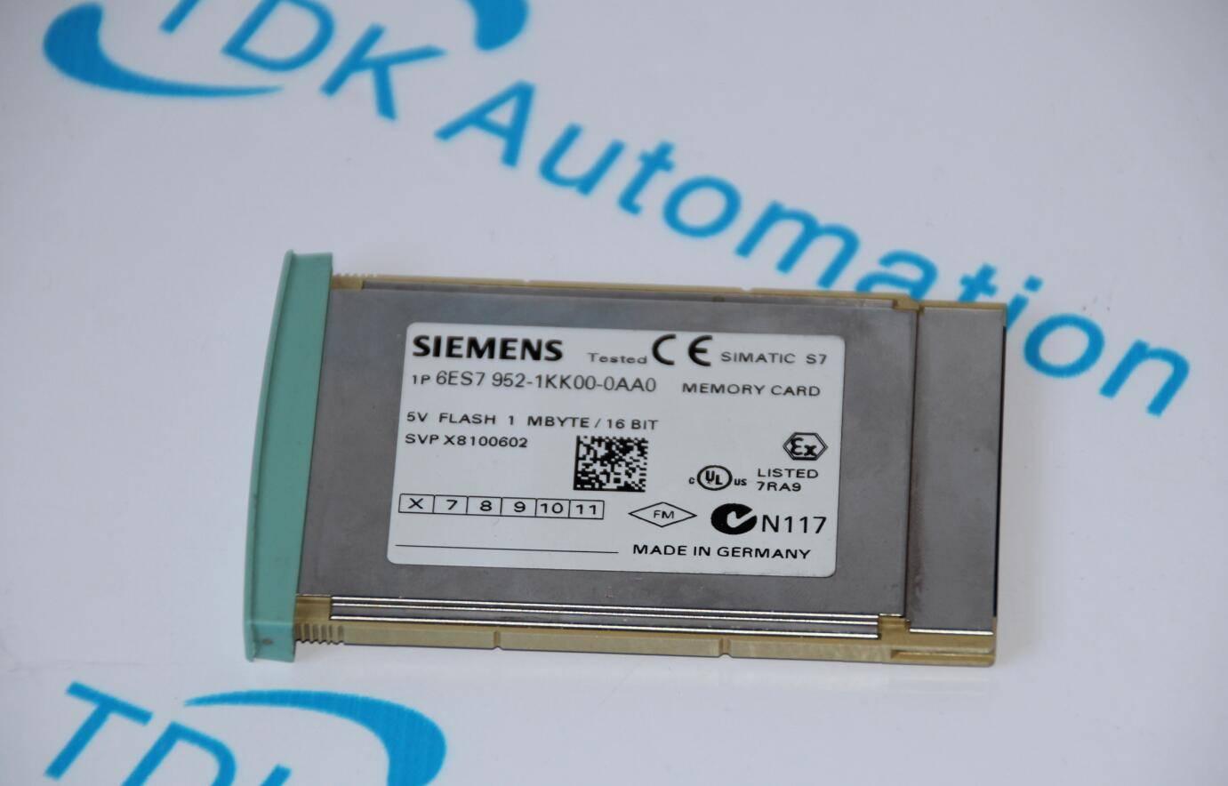 SIEMENS MEMORY CARD 6ES7952-1KK00-0AA0