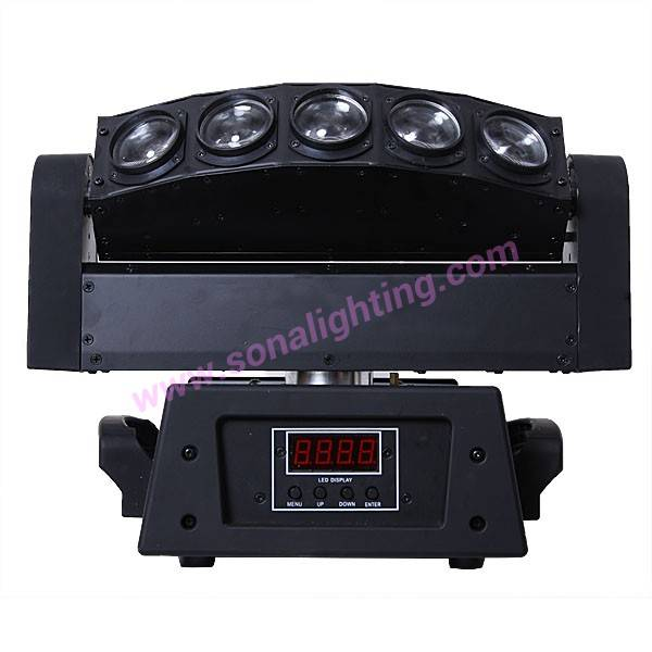 LED 5x10 Watt White Beam Moving Head Light