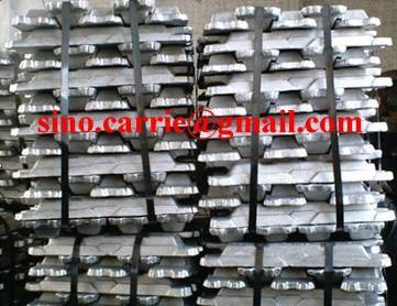 High pure lead ingots of 99.97% purity (minimum)