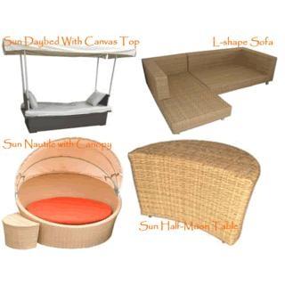 Sun Synthetic Rattan Furniture