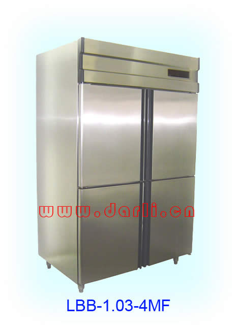 Solid door freezers