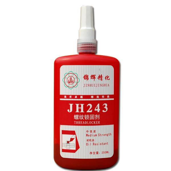 JH243 Threadlocking adhesive, Loctite 243 threadlocker quality