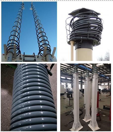 Sell spiral nylon conduit tube for mast