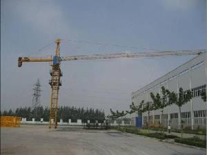 Tower Crane Qtz63 (TC5010) in Cambodia max load 5t---Skype:towercrane2