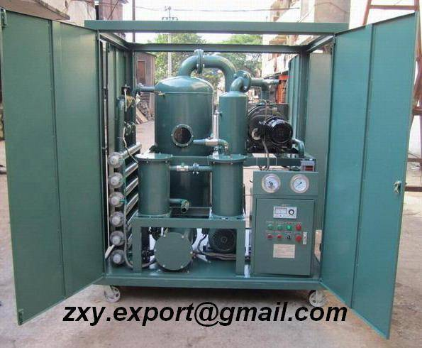 Transformer Oil Purification, Insulating Oil Filtration, Dielectric Oil Regeneration System