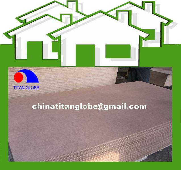 5.0mm Okoume Face&Back Veneer Okoume Plywood,Okoume Furniture Plywood,Commercial Plywood With Okoume
