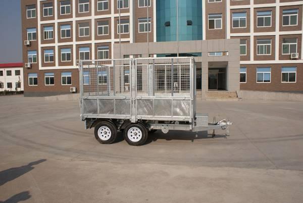 zinc plating trailer