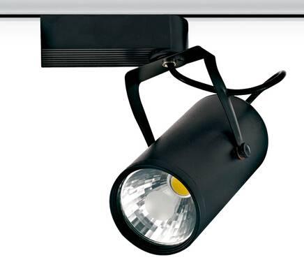 Epistar COB Gallery Led Track Lighting 10W rail light aluminium housing