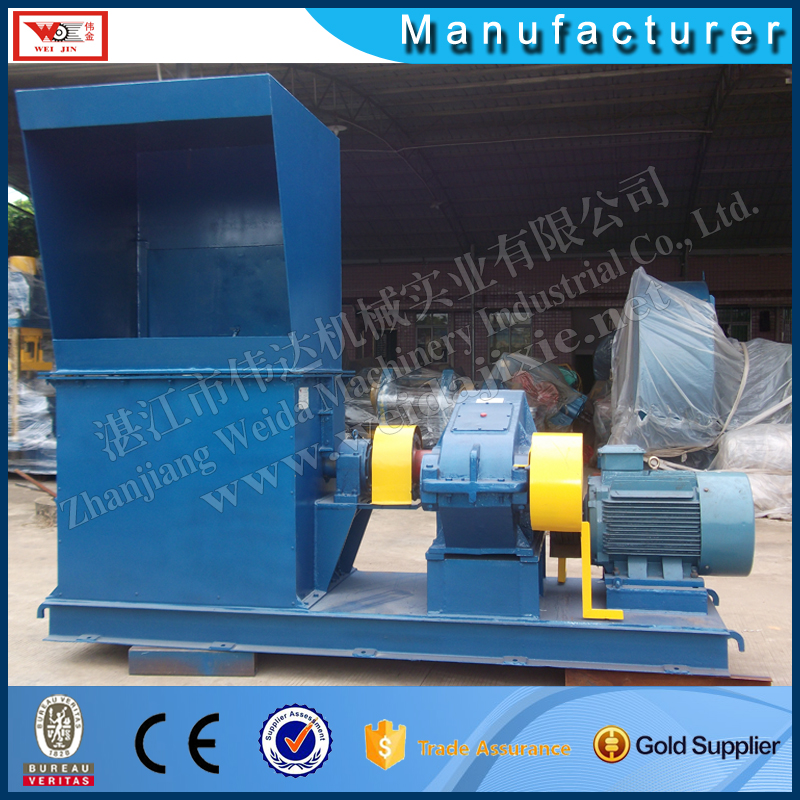 RUBBER BALE BREAKING MACHINE
