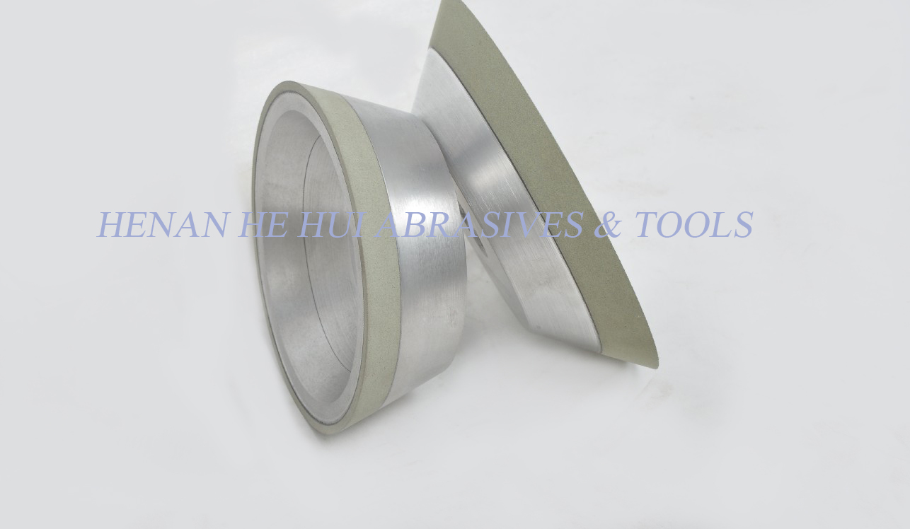 diamond grinding wheel for hard alloy-vitrified bond