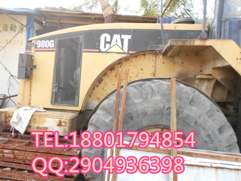used CAT 980G loader