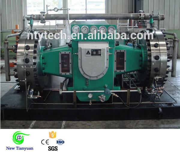 26-350Nm3/h Capacity D Type Explosive Gas Diaphragm Compressor