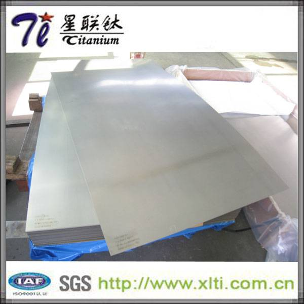 High Tensile Pickling 8mm Ti 6Al 4V AMS4911 Titanium Sheet