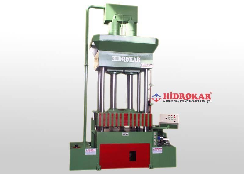deep drawing press 400 tons column type