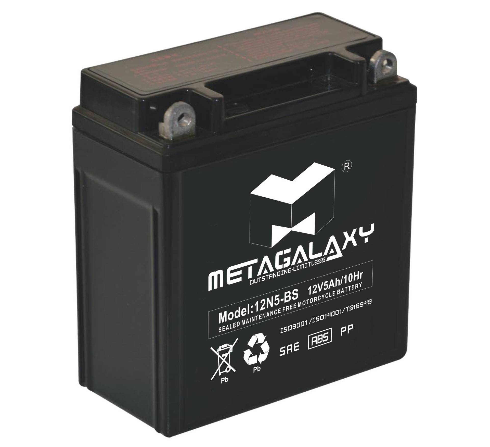 maintenance free lead aicd battery for motorcycle