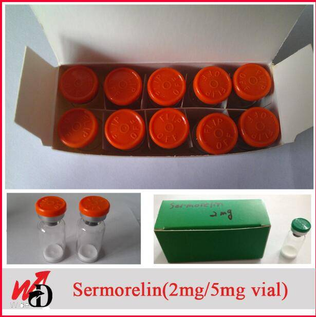 Legit Peptides Sermorelin (2mg/vial) to Gain Weight and Build Muscle